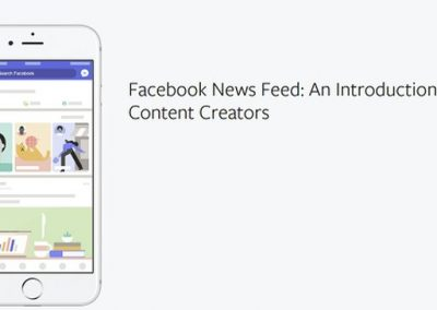 Facebook News Feed: An Introduction for Content Creators [Infographic]