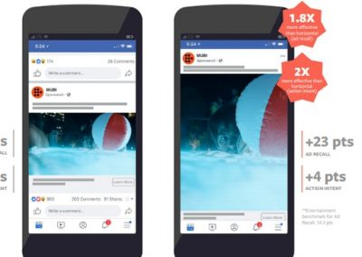 Facebook Outlines Framing and Presentation Tips for Vertical Video [Infographic]