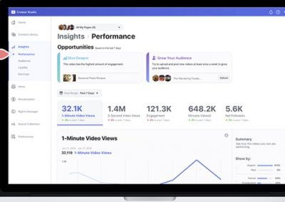 Facebook Provides New Creator Studio Overview and Tips