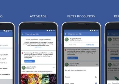 Facebook Provides New Tools to View All Ads Being Run by Pages
