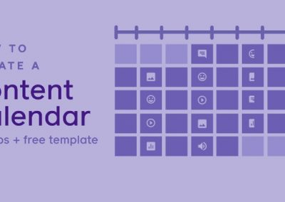 Facebook Provides Tips and a Template for an Effective Content Calendar