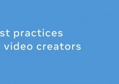Facebook Publishes New Guide for Video Creators