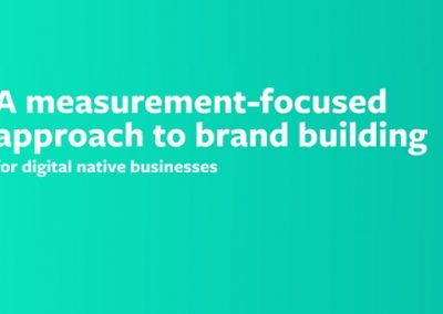 Facebook Publishes New Guide to Effective Brand Building