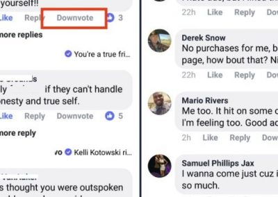 Facebook Reportedly Testing a 'Downvote' Option for Comments