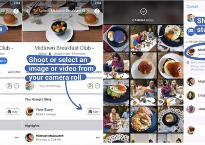 Facebook Rolls Out Group Stories to All Regions