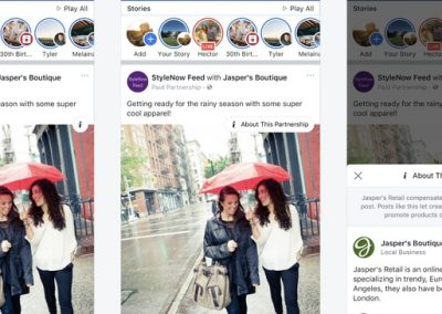 Facebook Rolls Out New Updates for Branded Content Tags to Improve Transparency
