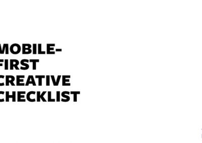 Facebook Shares Key Ad Tips in New Mobile-First Creative Checklist [Infographic]
