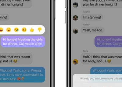 Facebook Starts Rolling Out 'Unsend' Option in Messenger
