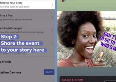 Facebook Tests New Option to Share Events within Stories, New Link Sharing Process for Businesses