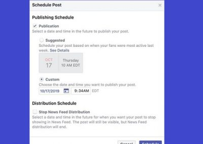 Facebook Tests 'Suggested Time' Feature for Scheduled Posts
