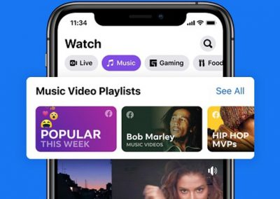 Facebook Unveils its New Music Video Approach, Which Could Provide a Boost for Facebook Watch