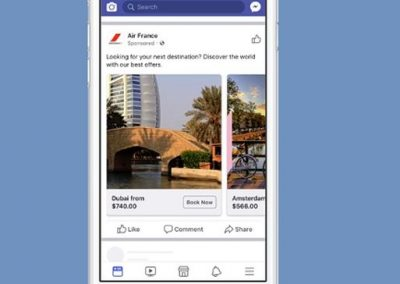 Facebook Updates Travel Ads to Help Airlines Reach More Prospective Customers
