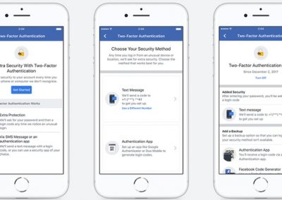 Facebook Updates Two-Factor Authentication Options to Improve Account Security
