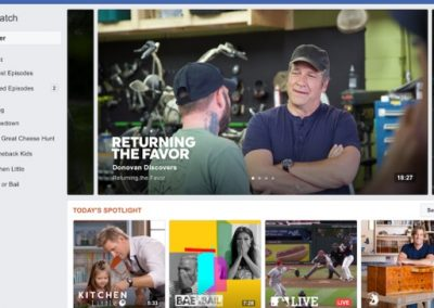 Facebook Watch Looks to Bigger Name Programming to Lure Viewers