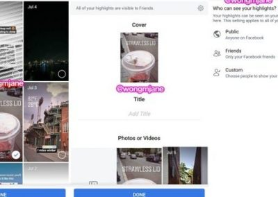 Facebook Will Begin Testing a New Highlights Option for Facebook Stories Content