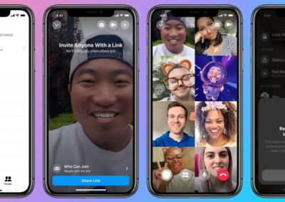 Facebook's 'Messenger Rooms' Multi-Participant Video Chat Option is Now Available to All