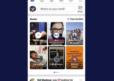 Facebook's Testing Another New Stories Layout as it Continues to Push Usage