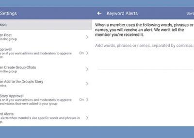 Facebook's Testing New 'Keyword Alerts' for Groups