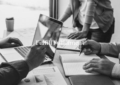 Fulfill Fulfillment