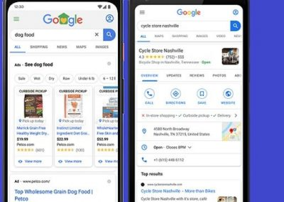 Google Adds 'Curbside Pick-Up' Notifications on Business Listings to Facilitate Contact-Free Options