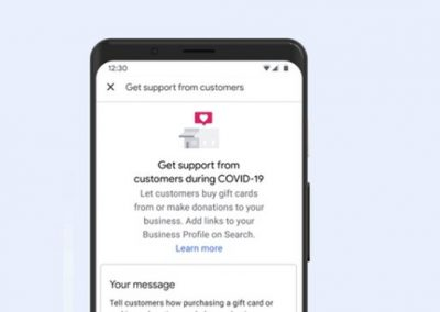 Google Adds Donation and Gift Card Purchase Links on Business Profiles