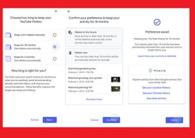 Google Adds New Data Security Tools, Including YouTube History Auto-Delete and Password Check-Up
