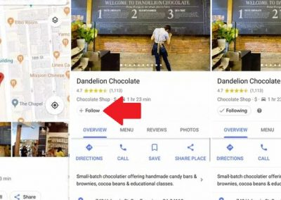 Google Adds New 'Follow' Feature for Businesses in Google Maps