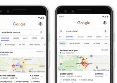 Google Adds New Listing Details to Streamline In-Store Purchases