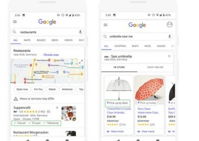 Google Adds New Search Listing Options to Help Businesses Highlight Updated Service Offerings