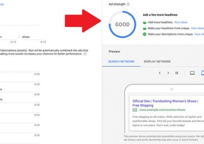 Google Ads New Tools for Responsive Search Ads
