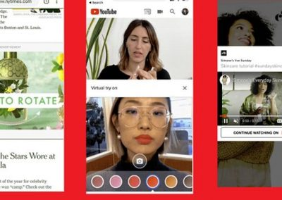 Google Announces New 3D Ad Creation Tools and New Live and AR Ad Options for YouTube