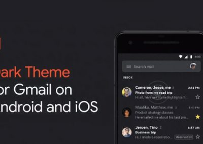 Google Announces New 'Dark Mode' Option for Gmail