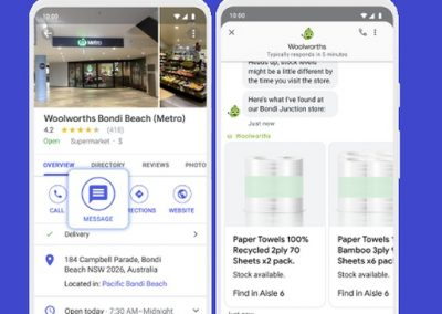 Google Expands Access to its Business Messaging Tools from Search and Maps