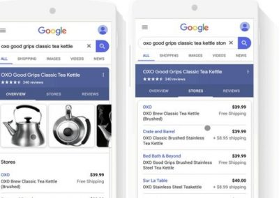 Google Expands eCommerce Connection with Free Product Listings in Search