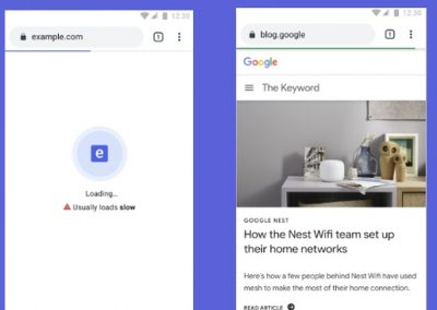 Google is Looking to Add New Warning Indicators for Slow Loading Websites