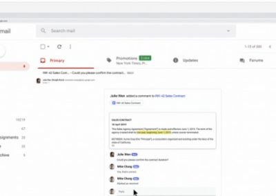 Google Launches 'Dynamic Email' Interactions Within Gmail Exchange