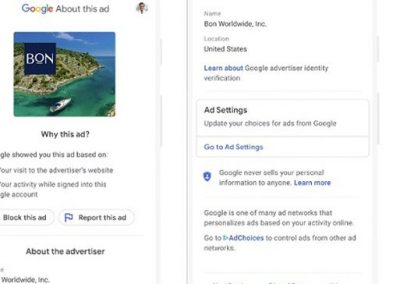 Google Provides More Ad Transparency, Plans to Phase Out Third-Party Cookies in Chrome