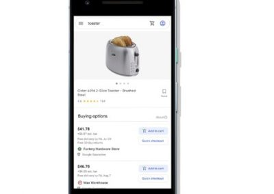 Google Removes Commission Fees for 'Buy on Google' Product Listings