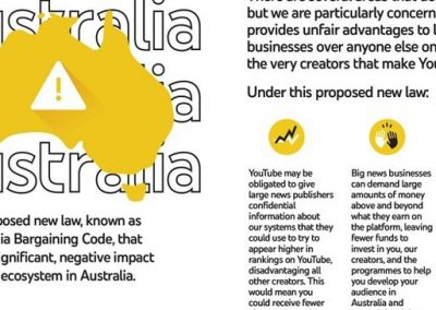 Google Tells Australian Users that Proposed New Revenue-Sharing Laws Would Have Major Negative Impacts