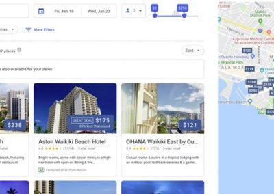 Google Updates Hotel Search Experience on Desktop