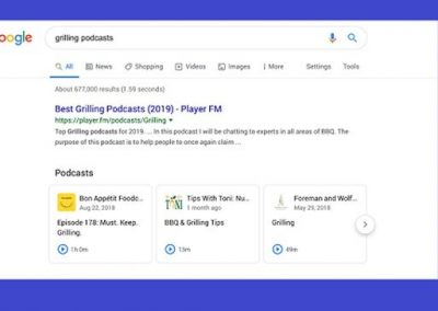 Google Will Now Highlight Individual Podcast Links Within Search Results