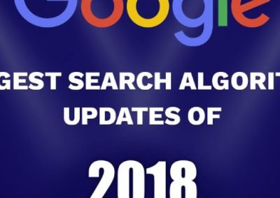 Google's Biggest Search Algorithm Updates of 2018 [Infographic]