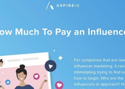 How Much Does a Social Media Influencer Cost? [Infographic]
