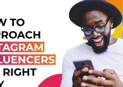 How to Approach Instagram Influencers the Right Way [Infographic]