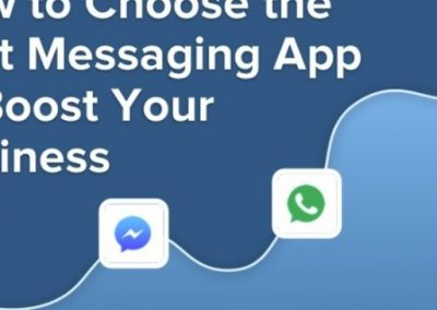 How to Choose a Messaging App for Your Marketing Campaign [Infographic]