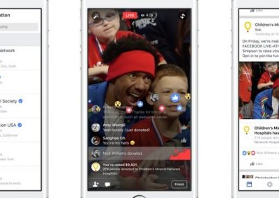 How to Drive Donations for Your Nonprofit Using Facebook Live