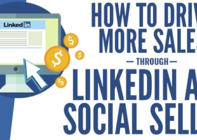 How to Drive More Sales Through LinkedIn and Social Selling [Infographic]