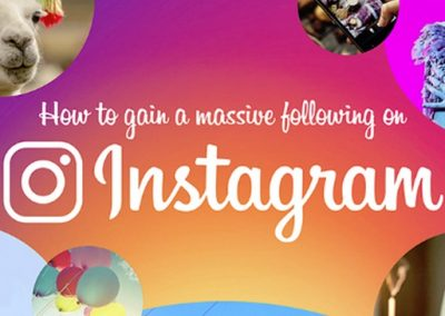 How to Gain a Massive Following on Instagram [Infographic]