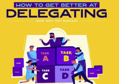 How to Get Better at Delegating (and Why You Should) [Infographic]
