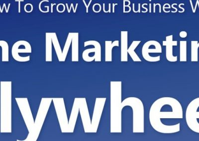 How to Grow Your Business with the Marketing Flywheel [Infographic]